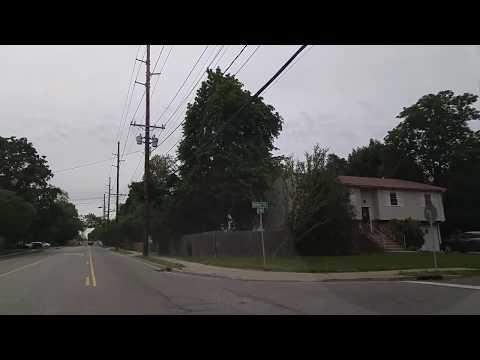 Driving From Lindenhurst To West Babylon In Suffolk,New York