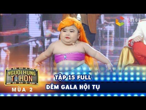 Người hùng tí hon 2  tập 15 full hd: Tin Tin hóa nàng tiên cá, cạnh tranh nhan sắc với Tú Thanh