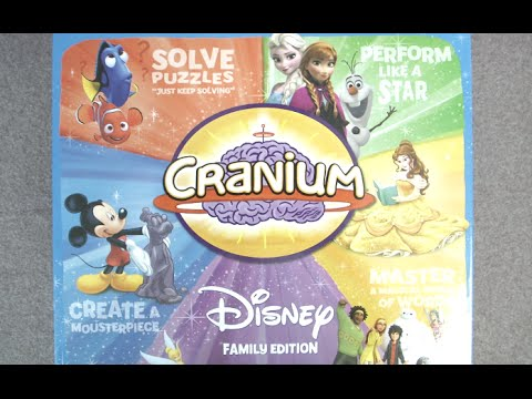 Cranium Disney Family Edition from USAopoly