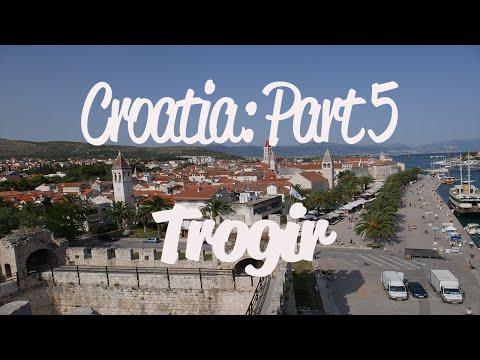 Croatia: Trogir (4K)