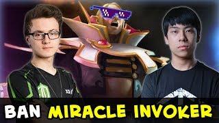 Miracle Invoker vs Ana Storm Spirit — total domination Liquid vs OG