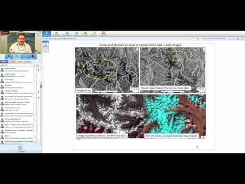 20 04 2017 SAR Remote Sensing for Snow and Glacier Studies