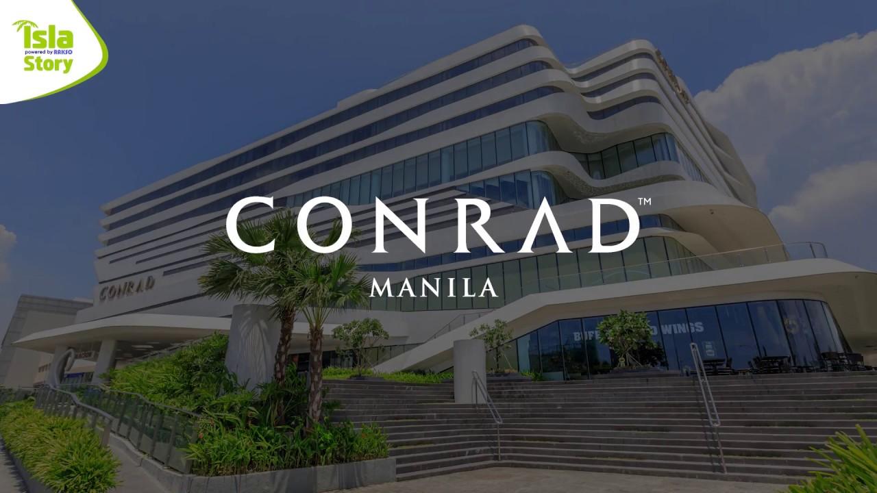 Hotel Conrad Manila Hilton Preview