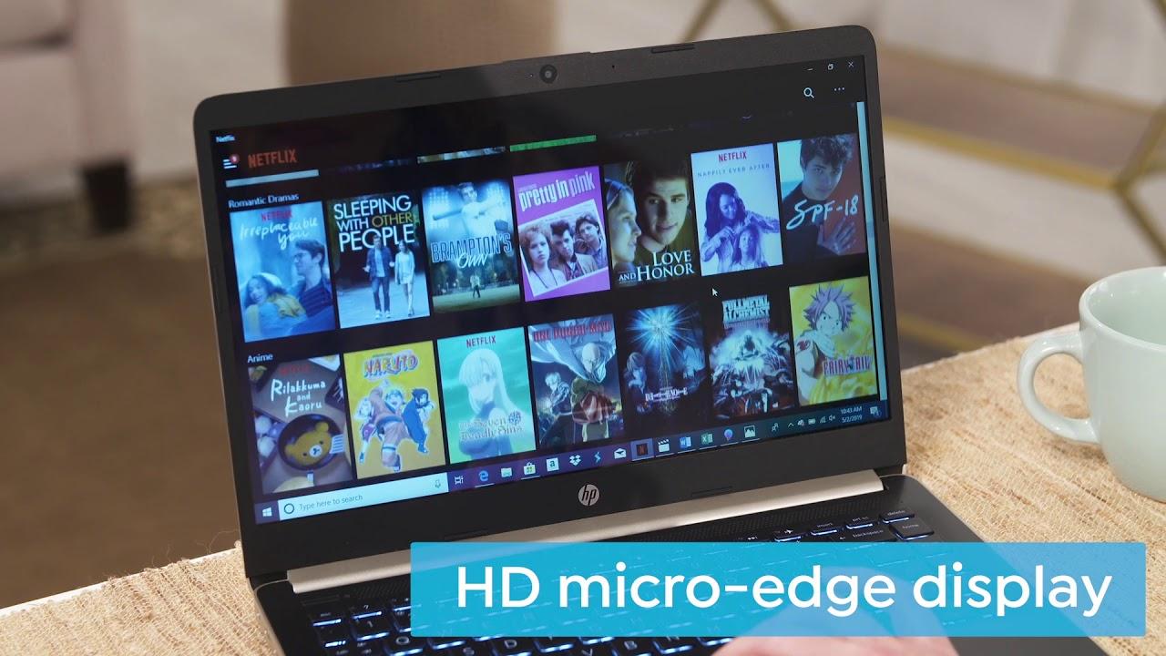 Hp 14 Amd A4 Dualcore 64 Gb Emmc Laptop W Office Tec Youtube