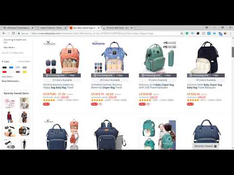 How To Push Products From Aliexpress To Woocommerce Using Alidropship Plugin