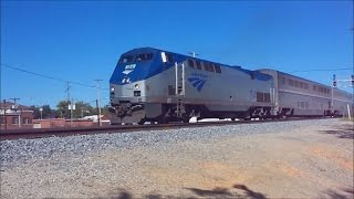 Amtrak City of New Orleans 59 Departing Jackson, Mississippi with Shave and a Haircut!!