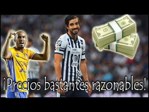 Los Futbolistas más caros de cada equipo de la Liga MX