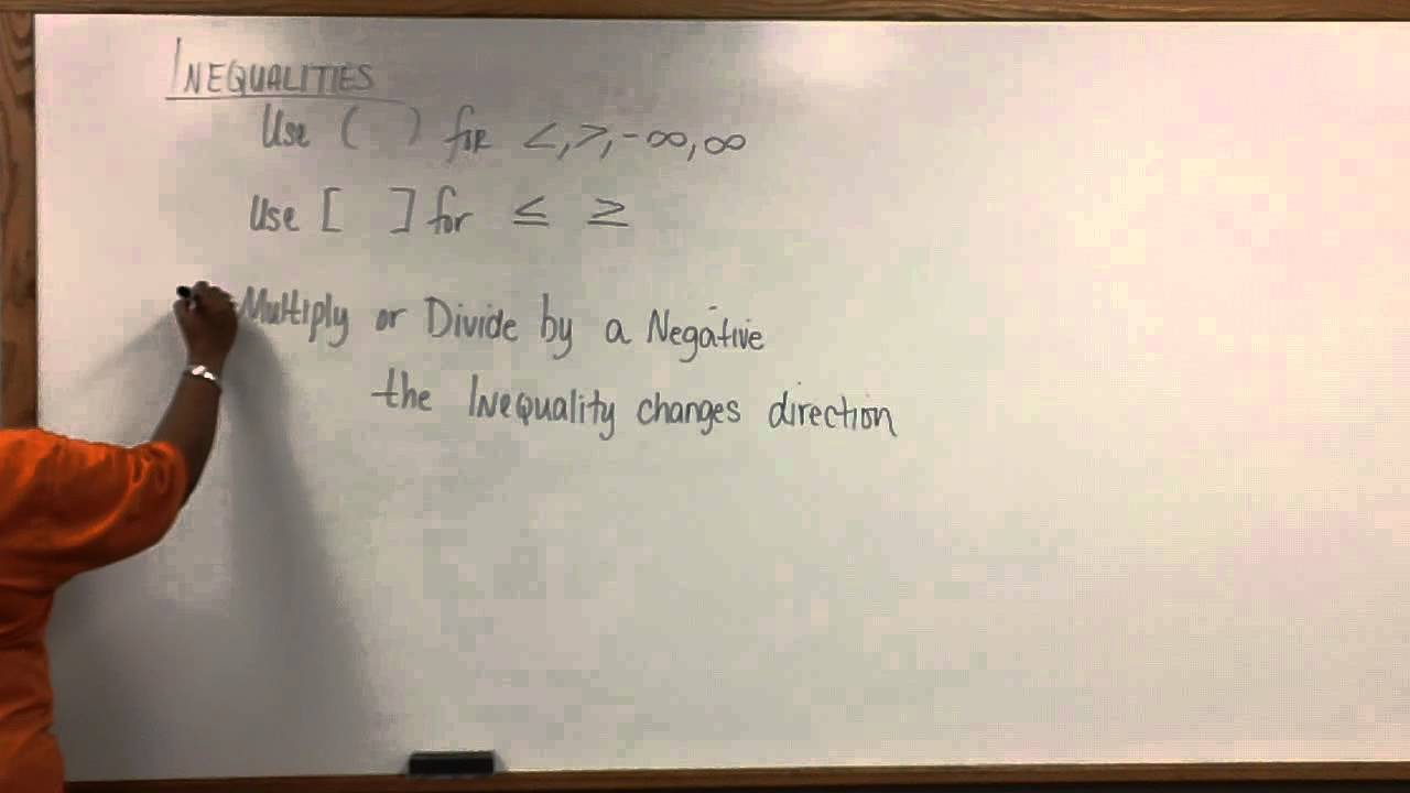 Sec 8.1 Inequality Rules.MP4 - YouTube