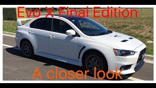 A more in depth video of my Evo X Final Edition, hopefully you all ...