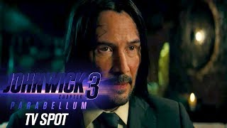 "John Wick: Chapter 3 - Parabellum (2019 Movie) Official TV Spot ""Action""– Keanu Reeves, Halle Berry"