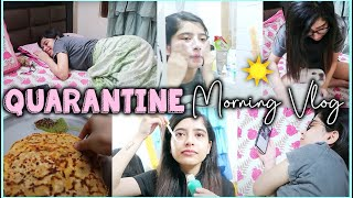VLOG: My Morning Routine in Quarantine/Lockdown | Anindita Chakravarty