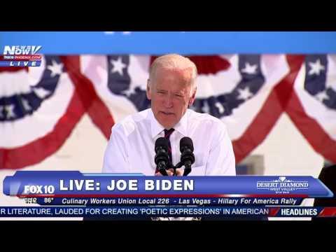"WOW: Joe Biden MOCKS Donald Trump's ""November 28"" Election Day Mishap, Does Sign of the Cross - FNN"