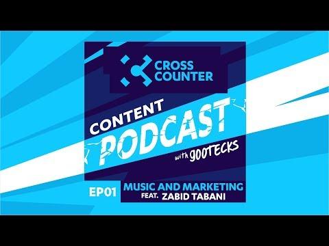 XC Content Podcast EP 01 Feat. Zaid Tabani - Music & Marketing