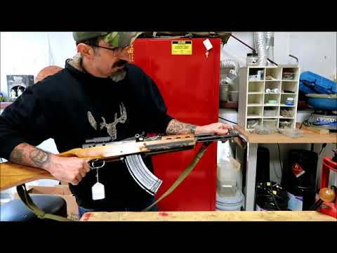 quick overview of a rare norinco sks