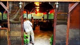 Банкетный зал с верандой и зеленой террасой. Лофт Москва