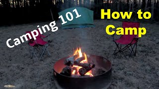 Camping 101 for Begiฑners | Useful Knowledge