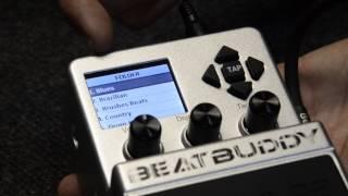 BeatBuddy Drum Machine Demo Part 1