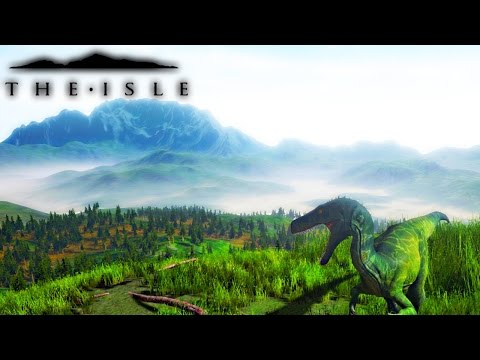 The Isle - HERBIVORE & CARNIVORE PROGRESSION ATTEMPT, OBSERVATION POST & NESTING PREVIEW | Gameplay