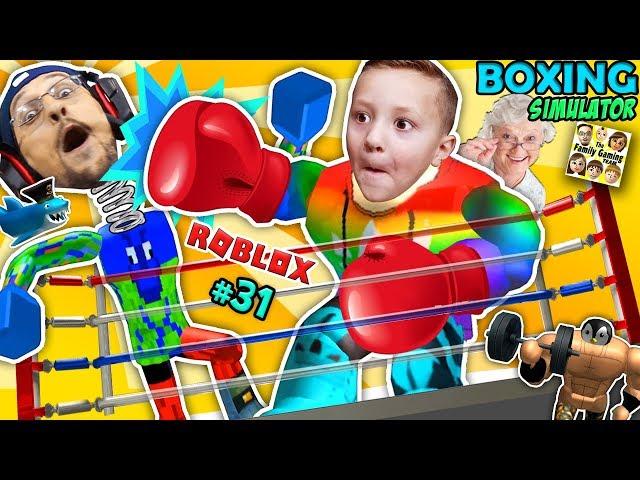 Roblox Giant Granny Muscle Freak Vs Fgteev Boxing -9758