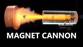 Electromagnetic Force Fields VS. Magnetic Cannonball