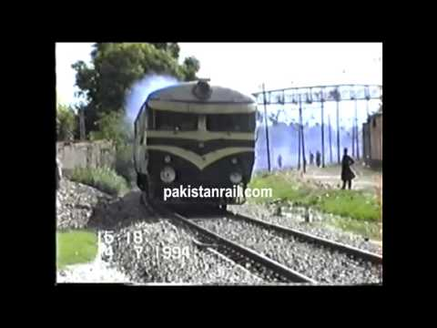 Pakistan Railways - good old days of railcar. Clip from pakistanrail.com archive.