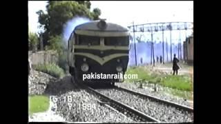 Pakistan Railways - good old days of railcar. Clip from pakistanrail.com archive.