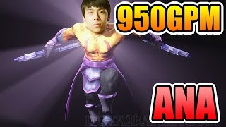 HOW TO FARM 950GPM ANTI MAGE by ANA DOTA 2 7.00