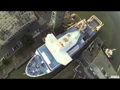 """Dji Phantom 2 - Research Ship """"Pourquoi Pas ?"""" [HD]"""