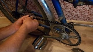 как сделать простой велосипед