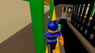 (PRG Plays) Roblox G train simulator