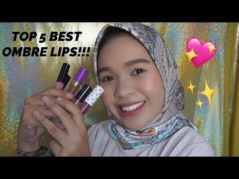 5-warna-ombre-lips-untuk-kulit-sawo-matang-dan-bibir-hitam-|-clararizqi