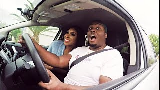 CARPOOL BOPS WITH JACKIE AINA!! | Zachary Campbell