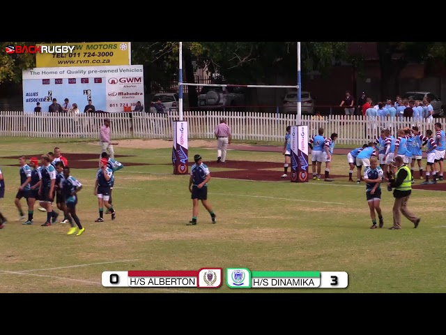 Alberton u15 vs Dinamika u15 - Second Half