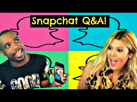 Snapchat Q&A! Ep. 1   First Fight   Interracial Comments   Prank On Cash