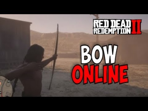How to Get the Bow and Arrows in Red Dead Redemption 2 online (( Early Access))