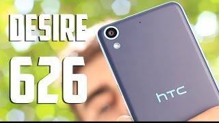 HTC Desire 626, Review en español