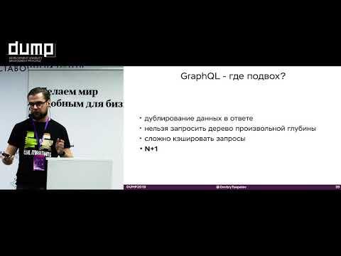 Дмитрий Цепелев. Как мыслить графами, или почему GraphQL – это не просто представление структуры