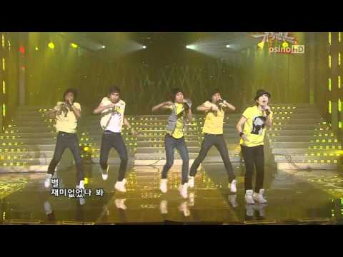 [08.07.11] SHINee - Noona Is So Pretty (Replay) [HD]