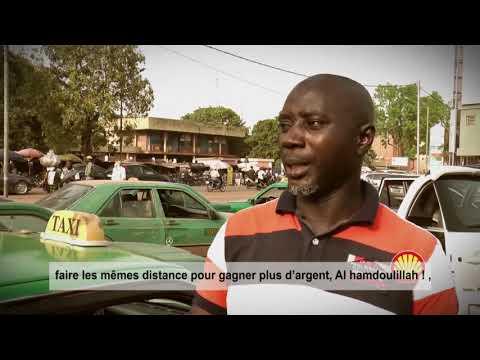 Taxi - Shell Diesel Extra - Burkina Faso
