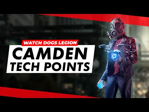Watch Dogs Legion Camden Collectibles Guide (Tech Points)