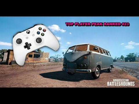 🏆-Top Ranked Player - PUBG XBOX ONE-S PEAK RANKS #23 (PLAYER UNKNOWNS BATTLE GROUNDS🏆)