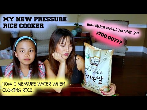 HOW I COOK MY RICE • NEW CUCKOO PRESSURE COOKER