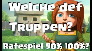[430] Welche Clanburgtruppen sind gut? 90 oder 100 Prozent Spiel | Clash of Clans Deutsch COC