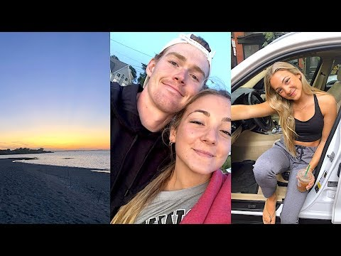 cape cod vlog: ice cream, sunset + my first car detail! thumbnail