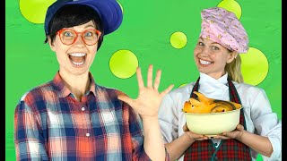 The Muffin Man | Pretty Patty Nursery Rhymes & Kids Song