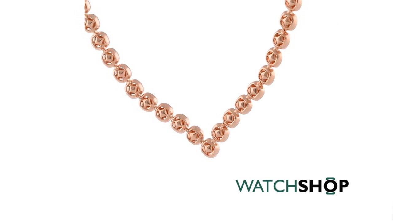 c77dfaadb Ladies Swarovski Rose Gold Plated Angelic Earring & Necklace Set (5351304)