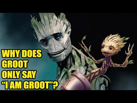 """Why Does Groot Only Say """"I Am Groot""""? - [DaFAQs]"""