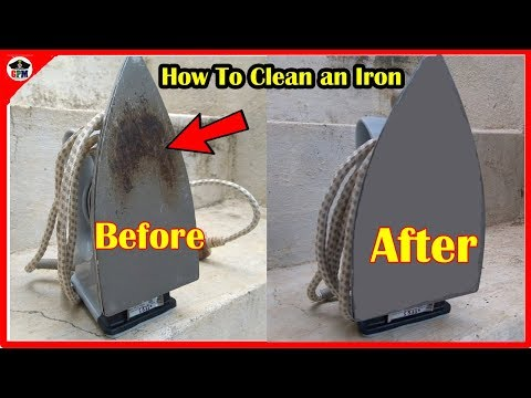Iron box கறை நீக்குவது எப்படி| How To Clean an Iron box | CAPTAIN GPM-TAMIL