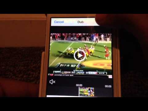 How to Make a Sports Vine Using Apps