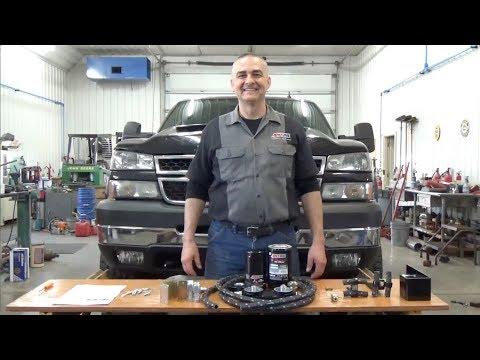 Chevrolet Duramax Diesel Amsoil BMK27 By Pass Filter Installation